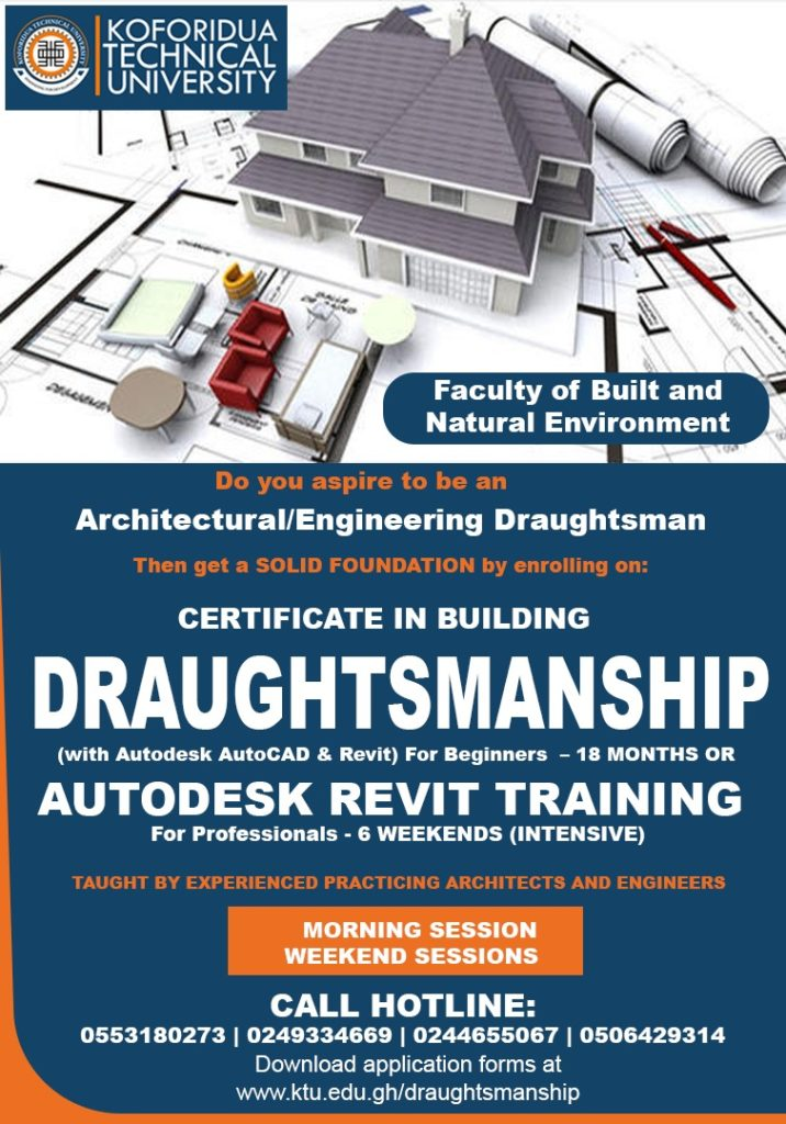 Certificate in Draughtsmanship