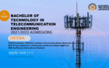 4-YEAR Bachelor of Technology in Telecommunication Engineering – 2021/2022 Admissions